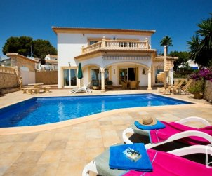 House   Benissa 8 persons - private pool and beautiful sea view p1