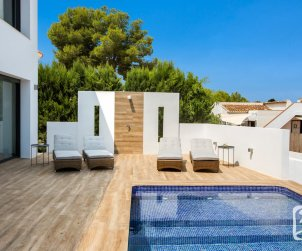 Modern house  Benissa 8 persons with private pool and air conditioning p1