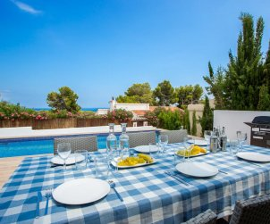 Modern house  Benissa 8 persons with private pool and air conditioning p2