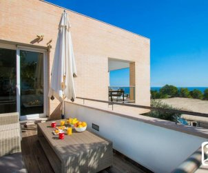 House  in Calpe  for 4 people with communal pool, air conditioning and sea view  p2