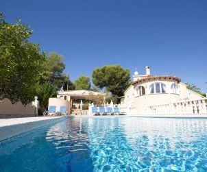House   Calpe 12 persons - private pool p0