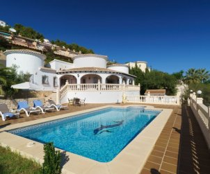 House   Moraira 9 persons - private pool p0