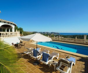 House   Moraira 9 persons - private pool p1