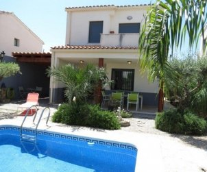 Villa  in Peniscola  for 6 persons with private pool  p0