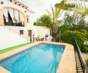 Villa  in Benissa  for 4 persons with private pool and air conditioning  p0