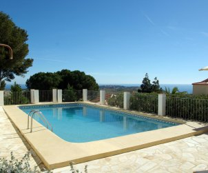 Villa  in Benitachell  for 6 persons with private pool and sea view p0