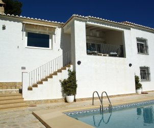 Villa  in Benitachell  for 6 persons with private pool and sea view p2