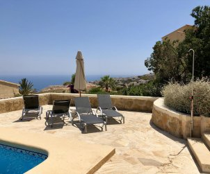 Villa  in Benitachell  for 6 persons with private pool and sea view p1