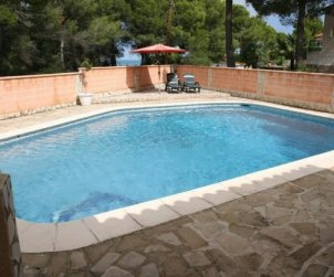 House  in Denia  for 6 persons with private pool  p1
