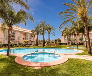 Flat   Javea 6 persons - comunal pool p0