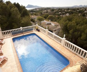 House   Altea 6 persons - private pool, sea view and air conditioning p1