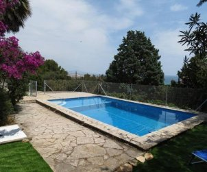 House  in Peniscola  for 9 persons with private pool and near sea  p2