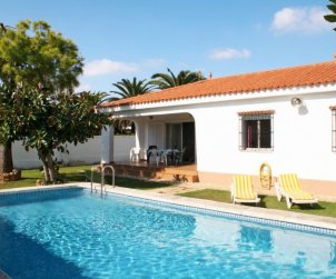 Flat   Vinaros 6 persons - private pool p0