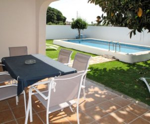 Flat   Vinaros 6 persons - private pool p1