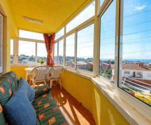 Flat   Creixell 7 persons - panoramic sea view p0