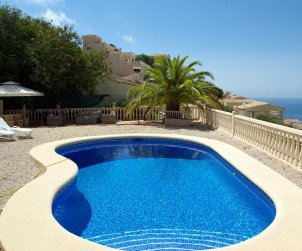 House   Benitachell 4 persons - private pool, sea view and wifi p1
