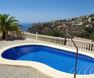 House   Benitachell 4 persons - private pool, sea view and wifi p0