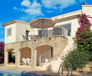 House   Moraira 4 persons - private pool p0