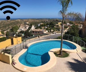 House  in Benitachell  for 4 persons with private pool, sea view and wifi  p0