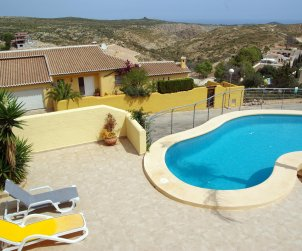House  in Benitachell  for 4 persons with private pool, sea view and wifi  p2