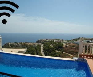 House  in Benitachell  for 8 persons with private pool, sea view and air conditioning  p0