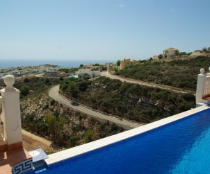House  in Benitachell  for 8 persons with private pool, sea view and air conditioning  p1