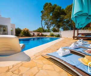 House  in Calpe  for 10 persons with private pool, sea view and air conditioning  p1