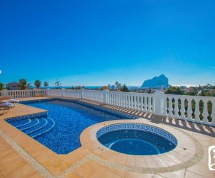 House  in Calpe  for 6 persons with private pool, sea view and air conditioning  p1