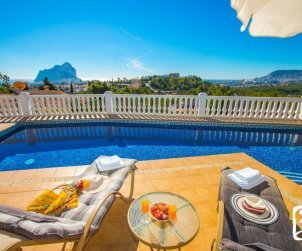 House  in Calpe  for 6 persons with private pool, sea view and air conditioning  p2