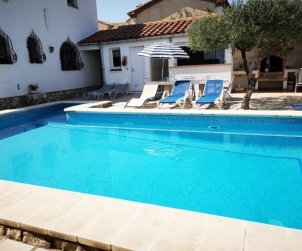 Villa  in Ametlla de Mar  for 7 people with private pool protected  p1