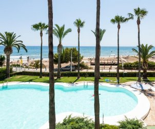 Flat  in Alcoceber  for 6 persons with shared pool, sea view and air conditioning  p0