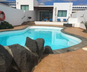 House   Playa Blanca 5 persons - private pool p0