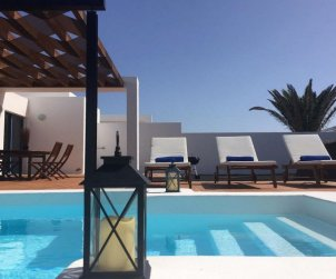 House   Playa Blanca 4 persons - private pool p0