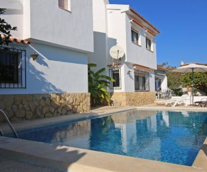 House  in Benissa  for 9 persons with private pool, air conditioning and internet  p2
