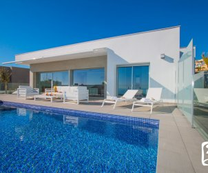 Modern house  Moraira  for 8 persons with private pool, sea view and air conditioning  p0