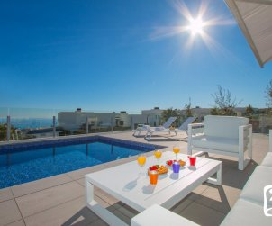 Modern house  Moraira  for 8 persons with private pool, sea view and air conditioning  p1