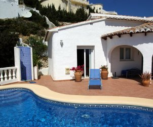 Villa  in Benitachell  for 6 persons with private pool  p2
