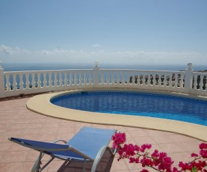 Villa  in Benitachell  for 6 persons with private pool  p0