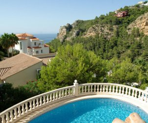 House   Benitachell 6 persons - private pool p0