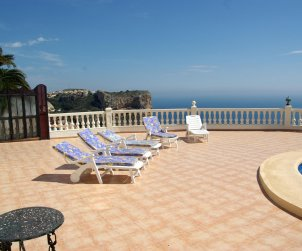 House  in Benitachell  for 8 persons with private pool and beautiful sea view  p2