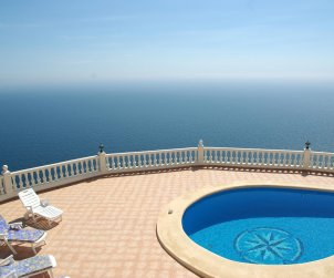 House  in Benitachell  for 8 persons with private pool and beautiful sea view  p0