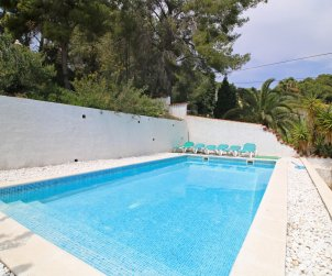 House  in Benissa  for 7 persons with private pool and sea view  p2