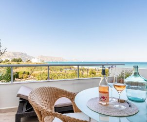 Flat   Altea 4 persons - sea view, air conditiong and parking p1
