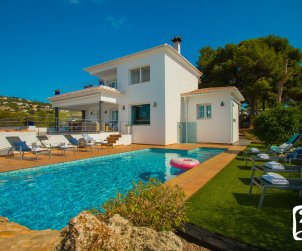 House   Benissa 8 persons with private pool, sea view and air conditioning p1