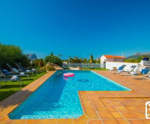 House   Benissa 8 persons with private pool, sea view and air conditioning p2