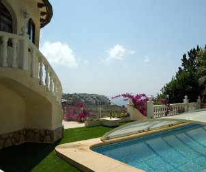 House   Benitachell 6 persons - private pool and air conditioning p1
