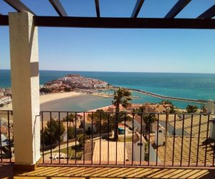 Flat  in Peniscola  for 6 persons with shared pool, sea view and parking  p2