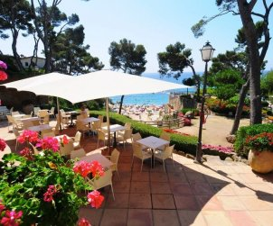 Camping mobile home   Platja d'Aro 6 persons - comunal pool - air conditioning p0