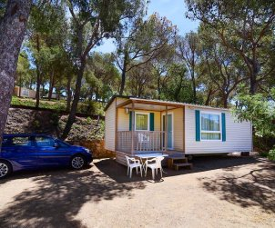 Camping mobile home   Platja d'Aro 6 persons - comunal pool - air conditioning p1