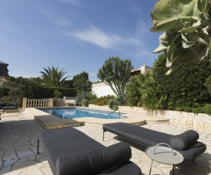 House  in Javea  for 5 people with private pool protected  p1